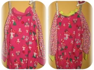 Hier ist das Ballonkleidchen nochmal - in Größe 62/68 und für ein Zwillingsmädchenpaar