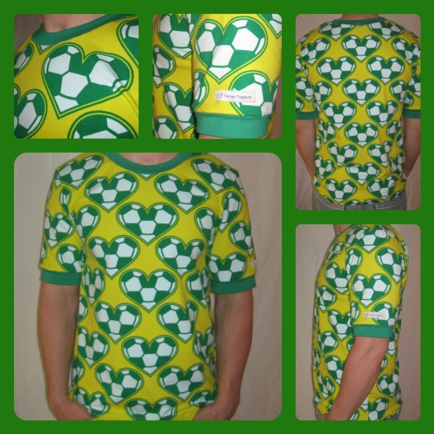 WM-Shirt aus Liebe zum runden Leder, ihr wisstschon…